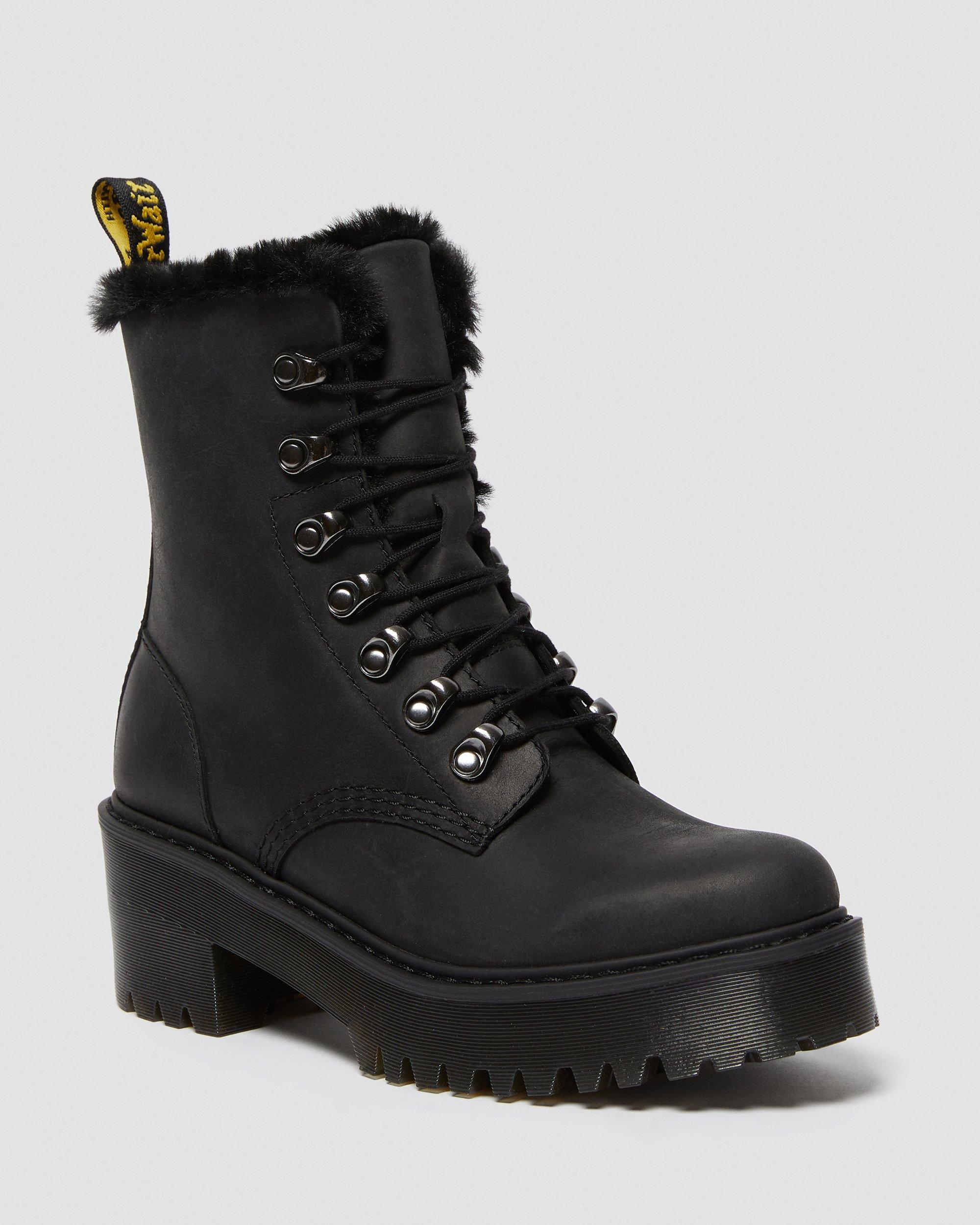 dr martens heeled boots